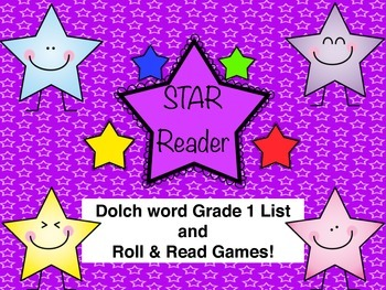Grade 1 Dolch Word Roll and Read