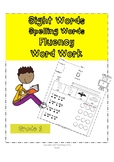 Grade 1 Dolch Words (Sight Words, Spelling Words, Fluency,
