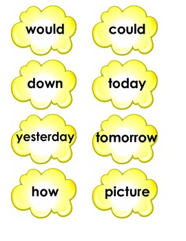 Grade 1 ELA Skills Strand Tricky Words for Units 2-5