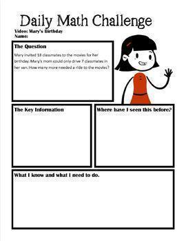 Videos: Early Addition & Subtraction Word Problems Pack 1