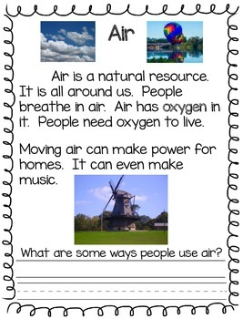 Grade 1 Earth Resources