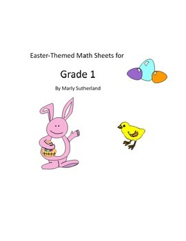 Grade 1 Easter Math Sheets