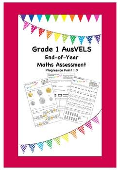Grade 1 End of Year Maths Assessment ( AusVELS )