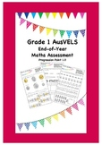 Grade 1 End of Year Maths Assessment ( AusVELS )