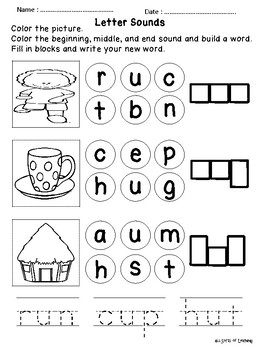 Grade 1 English Homework Pack Week 5