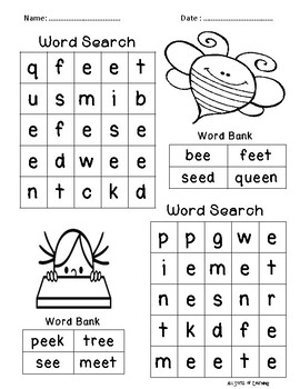 Grade 1 English Homework Pack Week 6 by All Sorts of Learning | TpT