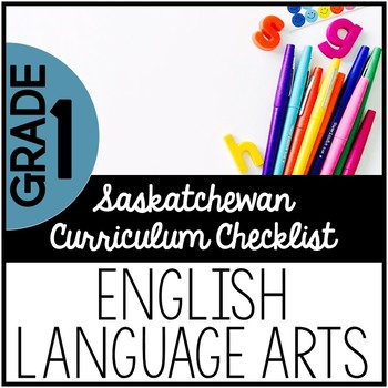 Grade 1 English Language Arts - Saskatchewan Curriculum Ch