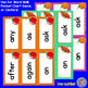 Grade 1: FALL Dolch Sight Word Cards/Pocket Chart Game