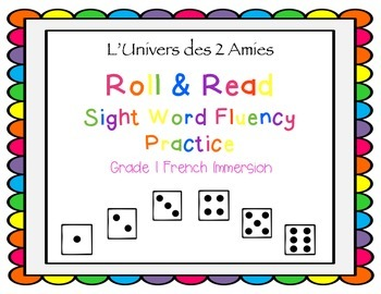 Grade 1 French Immersion Sight Word Fluency Practice