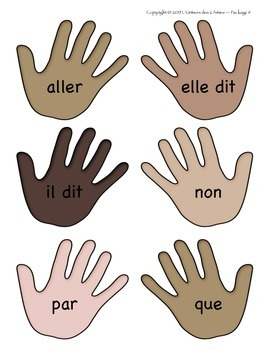 Grade 1 French Immersion Sight Word High 5 Practice