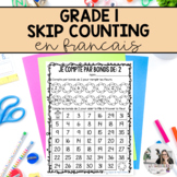 Grade 1 Math: French Skip Counting (2s, 5s 10s) - Distance