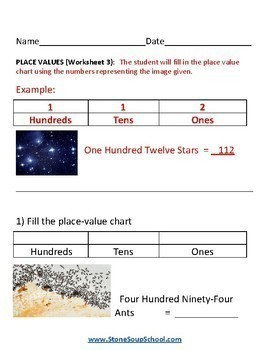 Grade 1 -  Gifted and Talented Students - Numbers and Operations in Base 10