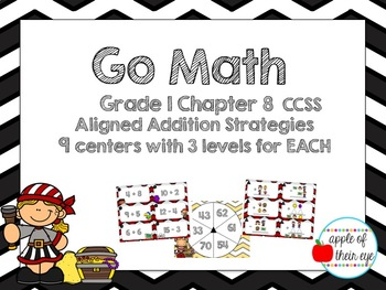 Go Math Grade 1 Chapter 8 (Differentiated) Centers
