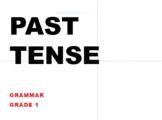 Grade 1 Grammar Past Tense