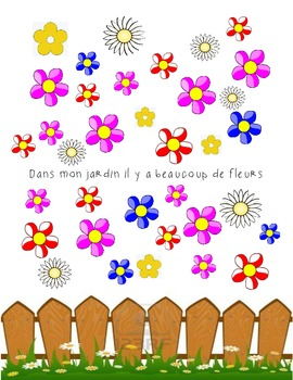Grade 1 Graphing and Addition Spring time- French Immersion