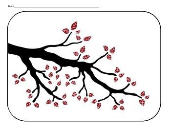 Grade 1 Graphing- spring time birds