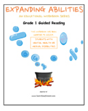 Grade 1 - Guided Reading Bundle : Mental Health or Medical Conditions Support