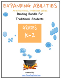 K-2 Reading Bundle for Traditional Students