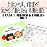 Grade 1 - HEALTHY EATING UNIT (FRENCH APPROPRIATE)
