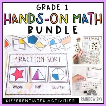 Grade 1 Hands-on Math Pack BUNDLE