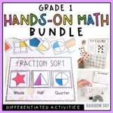 Grade 1 Hands-on Math Pack BUNDLE