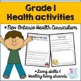 Grade 1 Health - Living Skills and Healthy Living Strands (English)