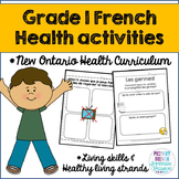 Grade 1 Health - Living Skills and Healthy Living Strands (French)