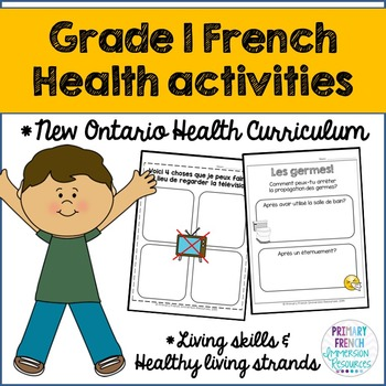 Grade 1 Health - Living Skills and Healthy Living Strands