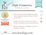 Grade 1 High-frequency Workbook