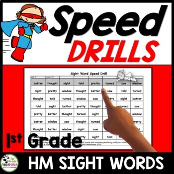 Grade 1 High Frequency Sight Word Drills Aligned with HMH Journeys 2011-2017