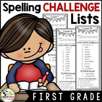 Grade 1 Houghton Mifflin Journeys 2011 CHALLENGE Spelling