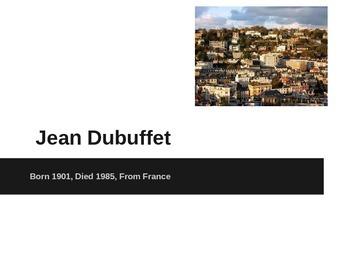 Grade 1 Jean Dubuffet Powerpoint