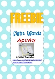 Grade 1 Journeys Sight Words FREEBIE