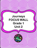 Grade 1 Journeys Unit 2 Focus Wall Posters and Student Reference Sheets