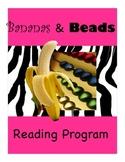 Grade 1 Jungle Themed Home Reading Program, Book Beads, Re
