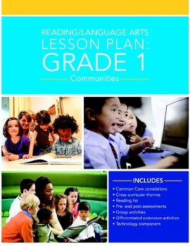 Grade 1 Language Arts Social Studies Lesson Plan: Communities