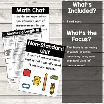 {Grade 1} Linear Measurement Activity Packet