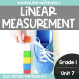 Grade 1, Unit 7: Linear Measurement (Wonderland Mathematics)