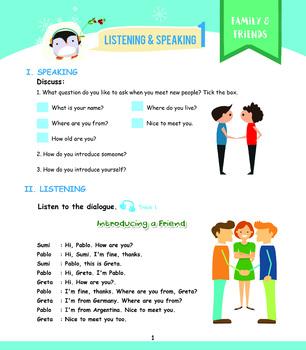 Grade 1 Listening Workbook Pg. 1-20