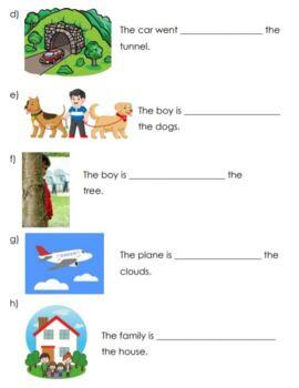 Grade 1 Location & Movement Quiz