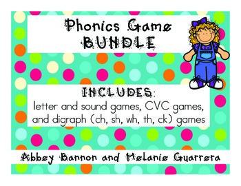 Grade 1 MEGA Phonics Games Bundle