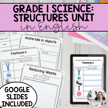 Grade 1 Materials, Objects and Everyday Structures