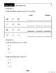 Grade 1 - Math - Assessments Book - 4 Units - Answer Key - Teacher Script