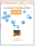 Grade 1 Math Bundle for Traditional Students