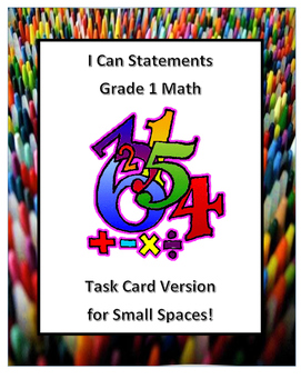Grade 1 Math I can Statements