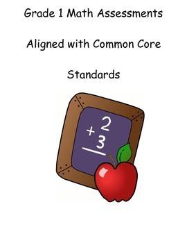 Grade 1 Math Common Core Comprehensive Assessment