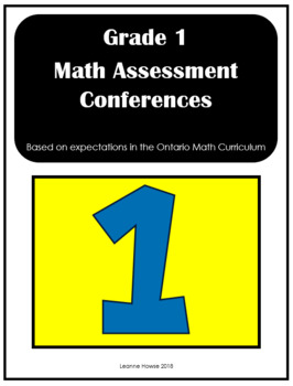 Grade 1 Math Conferences (Ontario)