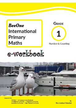 Grade 1 Math Counting & Comparing Workbook from BeeOne Books
