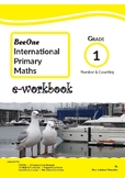 Grade 1 Math Number & Counting: 38 pages Workbook from Bee