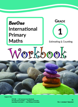 Grade 1 Math Counting & Estimating Workbook from BeeOne Books